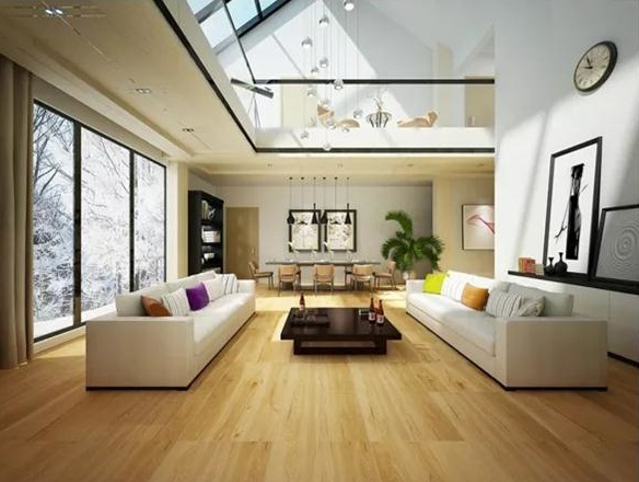 万博娱乐客户端自然木纹砖系列 | 看得见的绿色健康家居,原来是这样子的