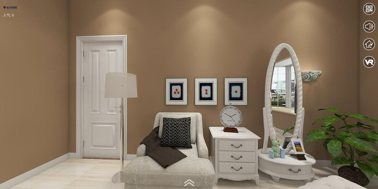 现代简约中性色卧室-HYEG80021吉尔曼