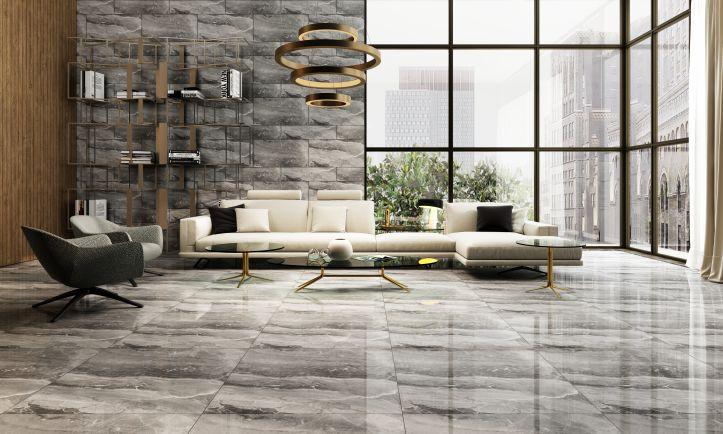 宏宇纯平大理石瓷砖,让家居设计更有高级感