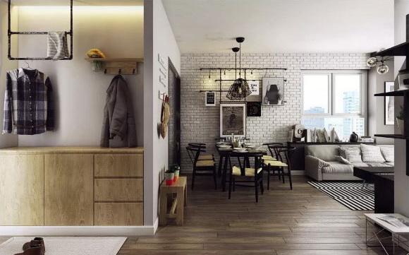 用最温柔的米黄色,布置出高级简奢的家