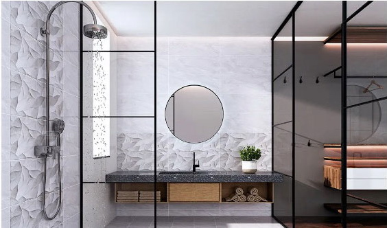 小空间大美好:浴室这么装,堪称五星级!